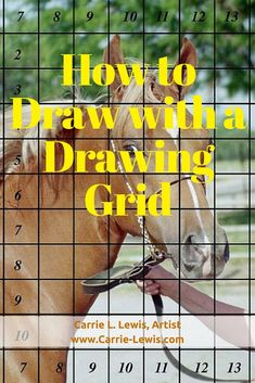 Eye Drawings How to Draw with a Drawing Grid - How to draw with a drawing grid. A demonstration of making a full-size drawing from a reference photo using a drawing grid. Realistic Eye Drawing, Realistic Rose, Pencil Drawing Tutorials, Pencil Drawings, Pencil Art, Art Tutorials, Drawing Techniques, Drawing Tips, Drawing Ideas