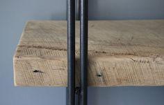 Reclaimed Wood Bookcase Shelving Unit Storage от DendroCo на Etsy
