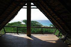 Tofo Beach Accommodation (Mozambique/Tofinho) - Casa Isabel top veranda