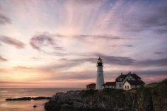 Dawn @ Portland Headlight by Sandra Wescott on 500px