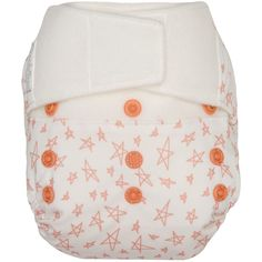 Set of 1 Reusable Pocket Cloth Nappy Littles /& Bloomz Pattern 69 Fastener: Popper with 1 Bamboo Insert