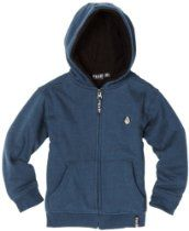 Volcom Boys 8-20 Solid Speckle Lined Youth Sweater