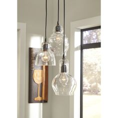 Laurel Foundry Modern Farmhouse Auguste 3 Light Kitchen Island Pendant & Reviews | Wayfair