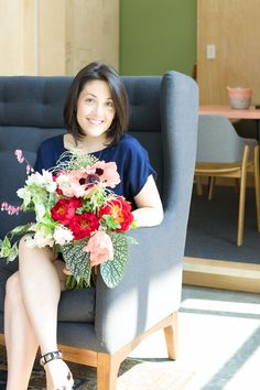 Humans with Bouquets: Grace | Tulipina