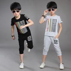 $14.00 (Buy here: https://alitems.com/g/1e8d114494ebda23ff8b16525dc3e8/?i=5&ulp=https%3A%2F%2Fwww.aliexpress.com%2Fitem%2F2016-kid-boys-summer-number-6-fashion-sport-suit-boys-and-girls-cotton-short-sleeved-set%2F32669450953.html ) 2016 kid boys summer number 6 fashion sport suit boys and girls cotton short-sleeved set for just $14.00
