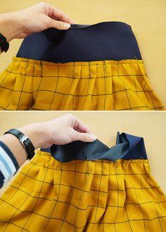Textiles, Sewing, Skirts, Fashion, Moda, Dressmaking, Couture, Fashion Styles, Skirt