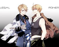 Axis Powers: Hetalia, United States