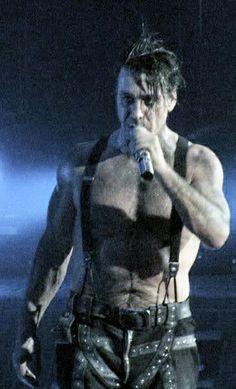 Shirtless Till Lindemann