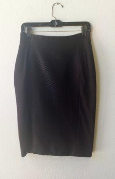 Ronen Chen black pencil skirt 1 #black #pencil-skirt #skirt