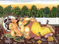 Sleeping Ganesh..