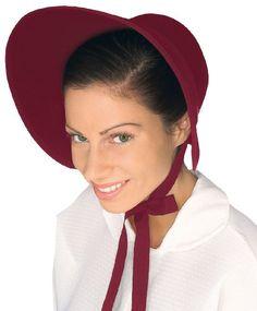 Forum Women's Wool Felt Bonnet, Burgundy Forum http://www.amazon.com/dp/B00BFWA4RG/ref=cm_sw_r_pi_dp_f.fMwb10A2M8V  Mission girls