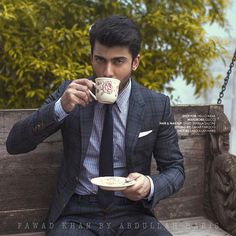 Unseen click of #FawadKhan from his photoshoot for Hello india.