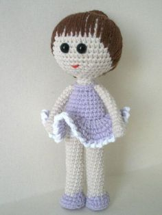 Ballerina Doll Amigurumi -Free English Pattern