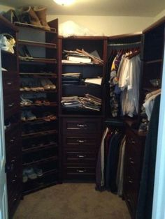 ClosetMaid Impressions 25 In. Dark Cherry Deluxe Hutch Closet Kit 30880 At  The Home Depot. I Like The Shoe Rack