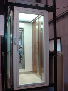 A stylish lift which can be installed within private housing http://www.domesticliftcompany.co.uk/ #lift #domestic #elevator #ACElifts #home #house #interior #design