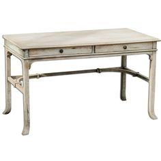 Uttermost 25602 Bridgely Mango Wood Writing Desk Distressed Wood Furniture Tables Desks