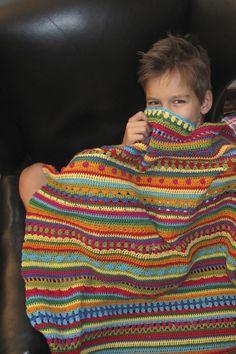 Ravelry: Baby Blanket Crochet Along pattern by Carina @ haekelmonster.com