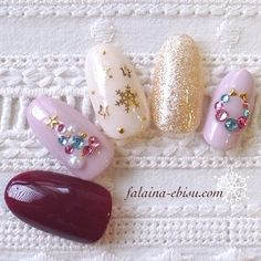 Sweetchristmas.pink.maroon.cream.gold.snowflakes