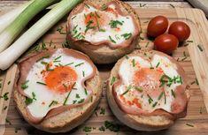 Diétás Reggeli Receptek Archives - Salátagyár Rigatoni, Camembert Cheese, Bacon, Brunch, Cooking, Breakfast, Health, Food, Recipes