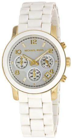 Michael Kors MK5145 Women s Two Tone Stainless Steel Quartz Chronograph  White Dial Watch  148.00 Watches Usa 69f97ad550