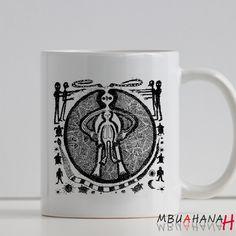 Alien Evolution, Design Mug, Size 9.5cm x 8.2cm 11oz Mug