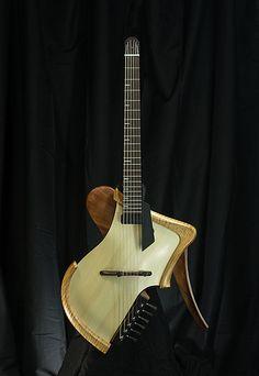 Matsuda acoustic electric guitar deconstruction.