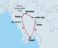 intrepid trip map burma