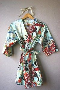 Kimono Style Robe, Dressing Gown or Cover Up....