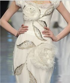 A rose is a rose is a rose.....and this are Haute Couture roses!