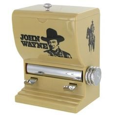 Know a big fan of The Duke? Put a smile on their face with a John Wayne toothpick dispenser. | Shop Hobby Lobby