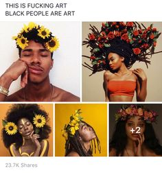 They are so beatifullll why do ppl say dark skin girls and boys are ugly, look at them, they are just as beatifull as light skinned boys and girls <<can I get a hell yeah Black Power, Black Women Art, Black Art, Dark Skin Girls, My Black Is Beautiful, Beautiful Artwork, How To Pose, Black Girls Rock, African Beauty