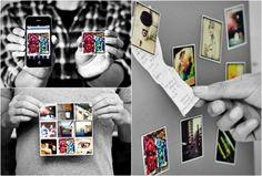 STICKYGRAM | INSTAGRAM MAGNETS - http://www.the-tech-blog.com/stickygram-instagram-magnets/