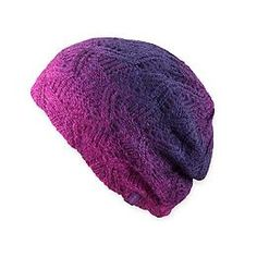 Shendra Beanie by Pistil™ - The dip-dyed open-weave beanie from Pistil™ that can be worn slouched for a bohemian vibe or rolled up for a more classic look.