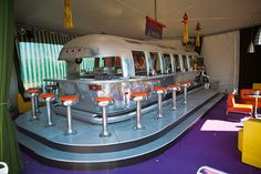 Belrepayre airstream & retro trailer park's Apollo Lounge
