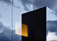 Peter Pichler's mirror-clad guesthouses are visible to birds
