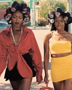 You wanna roll with us? Black Girl Fashion, Look Fashion, Fashion Fashion, Fashion Brands, Winter Fashion, Fashion Dresses, Black Girl Magic, Black Girls, Pretty People