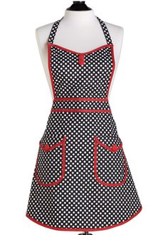 I have a sudden urge to start wearing aprons...and at $30, it's something I can afford to do!