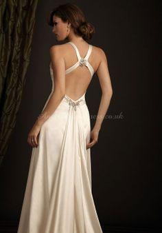 Beach Wedding Dress- love this design!