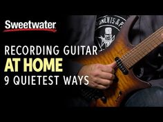Check out the How to Record a Guitar at Home: 9 Quietest Ways | Guitar Lesson page at Sweetwater — the world's leading music technology and instrument retailer! Home Recording Studio Setup, Recorder Music, Guitar Lessons, Technology, Check, Tech, Tecnologia