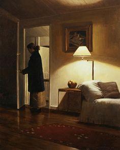 open door painting. Returning Home By Warren Chang Open Door Painting G