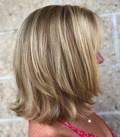 Medium Length Hair With Layers, Mid Length Hair, Medium Hair Cuts, Medium Length Bobs, Medium Lengths, Layered Bob Hairstyles, Hairstyles Over 50, Medium Hairstyles, Medium Hair Styles For Women