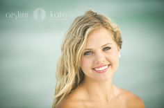 beach senior portraits