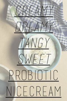creamy, dreamy and tangy- it's basically a milkshake you can eat for breakfast Recipe Type, Tangier, Nice Cream, Types Of Food, Milkshake, Eat, Breakfast, Morning Coffee, Smoothie