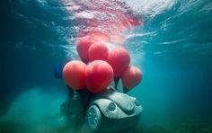 esculturas sub-aquáticas