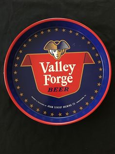 VINTAGE VALLEY FORGE BEER TRAY ADAM SCHEIDT BREWING CO. NORRISTOWN, PA. NICE | eBay