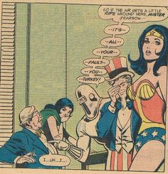 Freedom Fighters #4. Phantom Lady, Human Bomb, Uncle Sam and Wonder Woman.