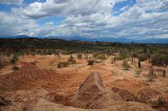 Die Tatacoa Wüste in Huila,Kolumbien gehört  zu den beliebtesten Natur-Schauplätzen Kolumbiens.  ©Southern-Sky-Tours. Südamerika