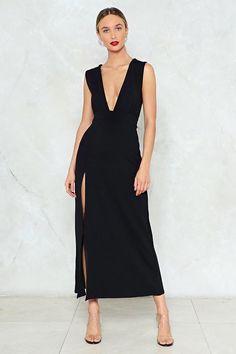 Deep on Dancing Maxi Dress