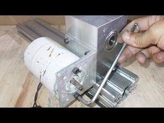 Homemade Mini Grinder Wheel DIY Sanding Grinding Heads Spindle Headstock...