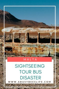 Ever been on a nightmare sightseeing tour bus? The tour bus in Malta for sightseeing was a complete disaster of a journey. More here about how to avoid making the same mistake we did! via @abusybeeslife